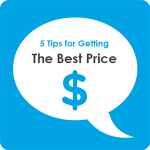 5 Tips for Getting the Best Price