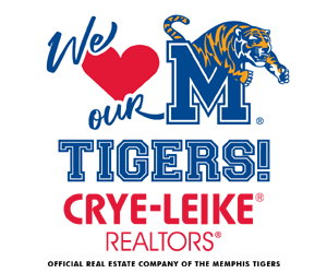 Crye-Leike Official Real Estate Company of the Memphis Tigers